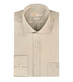 MICHAEL Michael Kors® Solid Twill Spread Dress Shirt