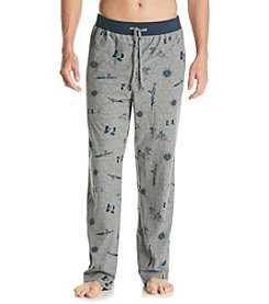 Nautica® Men's Airplane Print Cozy Fleece Pant