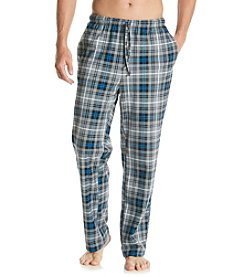Nautica® Men's Plaid Cozy Fleece Pant