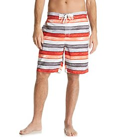 Paradise Collection® Men's Coral Stripe Swim Short