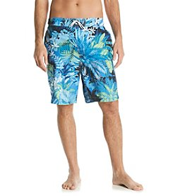 Paradise Collection® Men's Exploded Palm Swim Short