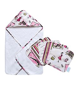 Waverly® Tres Chic Hooded Towel and Wash Cloth Bouquet Set