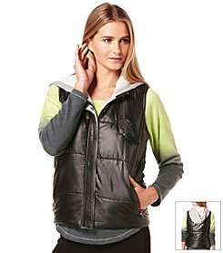 C&C California Hooded Puffer Vest