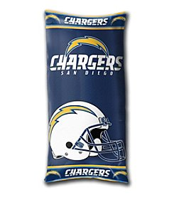NCAA® San Diego Chargers Folding Body Pillow