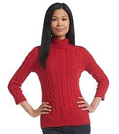 Studio Works® Lurex Turtleneck Sweater