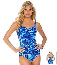 Trimshaper® Poolside Averi One Piece Swimsuit