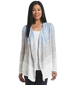 Laura Ashley® Cascade Sequin Ombre Cardigan Sweater