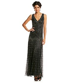 Pissaro Nights Long Beaded Dress