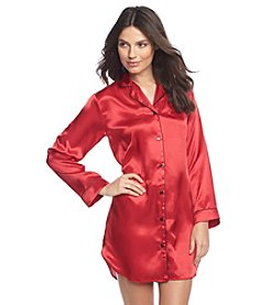 Linea Donatella® Satin Sleepshirt