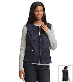 Jones New York Signature® Petites' Quilted Vest