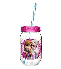 Zak Designs® Disney™ Frozen Elsa & Anna 19-oz. Tritan Mason Jar Water Bottle