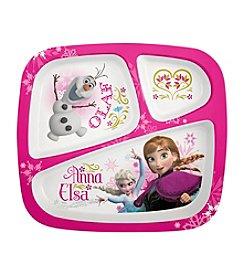 Zak Designs® Disney™ Frozen Elsa & Anna 3-Section Plate