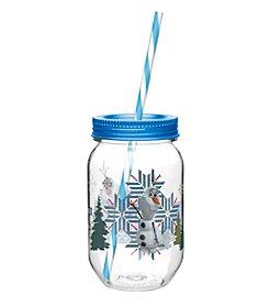 Zak Designs® Disney™ Frozen Olaf 19-oz. Tritan Mason Jar Water Bottle