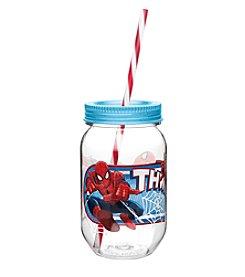 Zak Designs® Marvel® Ultimate Spiderman 19-oz. Tritan Mason Jar Water Bottle