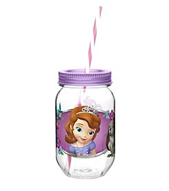 Zak Designs® Disney™ Sofia the First 19-oz. Tritan Mason Jar Water Bottle