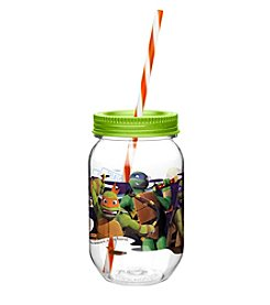 Zak Designs® Nickelodeon® Teenage Mutant Ninja Turtles 19-oz. Tritan Mason Jar Water Bottle