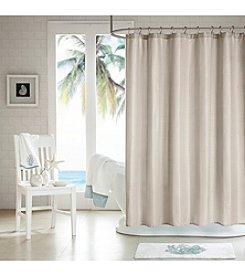 H2Ology 3M Scotchgard Waffle Weave Shower Curtain