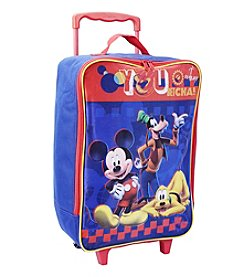 Disney™ Mickey Mouse® Soft Sided Rolling Luggage