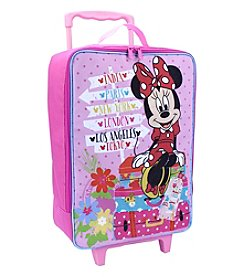 Disney™ Minnie Mouse® Soft Sided Rolling Luggage