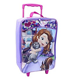 Disney™ Sofia the First Soft Sided Rolling Luggage