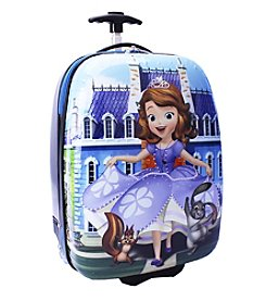 Disney™ Sofia the First Hard Shell ABS Rolling Luggage