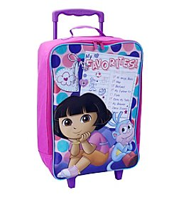 Nickelodeon® Dora the Explorer Soft Sided Rolling Luggage
