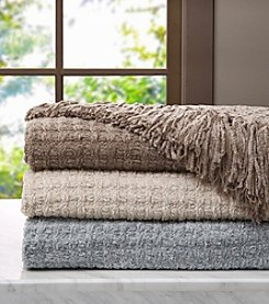 Madison Park™ Signature Luxury Braided Chenille Throw