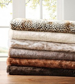 Madison Park™ Signature Luxury Faux Fur Throw