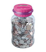 Discovery Kids® Pink Coin Bank