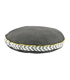 Chooty® Charcoal Round Pet Bed