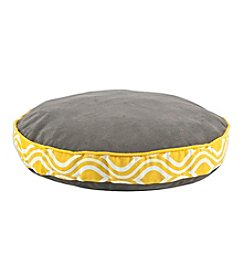Chooty® Passion Suede Charcoal Round Pet Bed