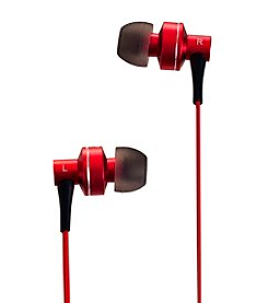 Sunbeam® Stereo HD Bass Metal Earphones
