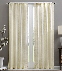 Madison Park™ Irina Diamond Sheer Window Panel