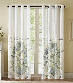Madison Park™ Solange Floral Watercolor Window Panel