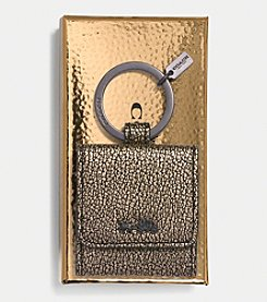 COACH BOXED HORSE AND CARRIAGE KEY CHAIN