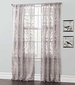 Lush Decor Anya Sheer Window Curtains