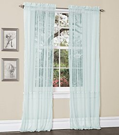 Lush Decor Lola Sheer Window Curtains