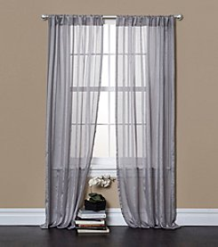 Lush Decor Rhythm Sheer Window Curtains