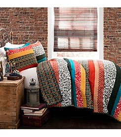 Lush Decor Boho Stripe 3-pc. Quilt Set