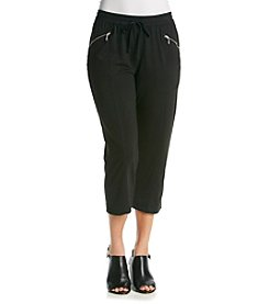 Oneworld® Cropped Pants With Zipper Pockets