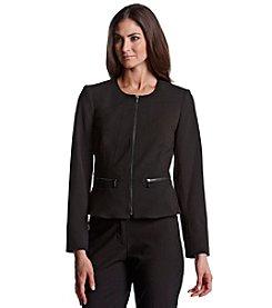 Calvin Klein Peplum Zip Jacket