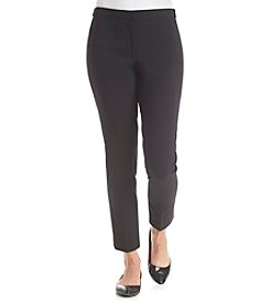 Calvin Klein Suits Petites' Highline Slim Fit Pants