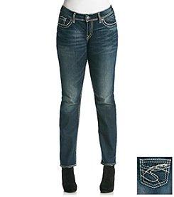 Silver Jeans Co.Plus Size Suki Straight Leg Jeans