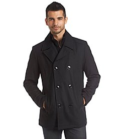 Kenneth Cole REACTION® Men's Wool Peacoat