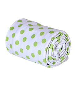 Trend Lab Dot Print Swaddle Blanket