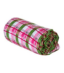 Trend Lab Plaid Swaddle Blanket