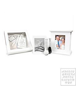 Cathy's Concepts 3-pc. White Personalized Signature Collection