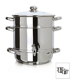 Euro Cuisine® Stainless Steel Stove Top Steam Juicer