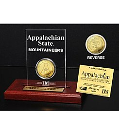 NCAA® Appalachian State University Gold Coin Etched Acrylic