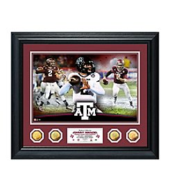 Johnny Manziel Texas A&M SE Gold Coin Photo Mint by Highland Mint